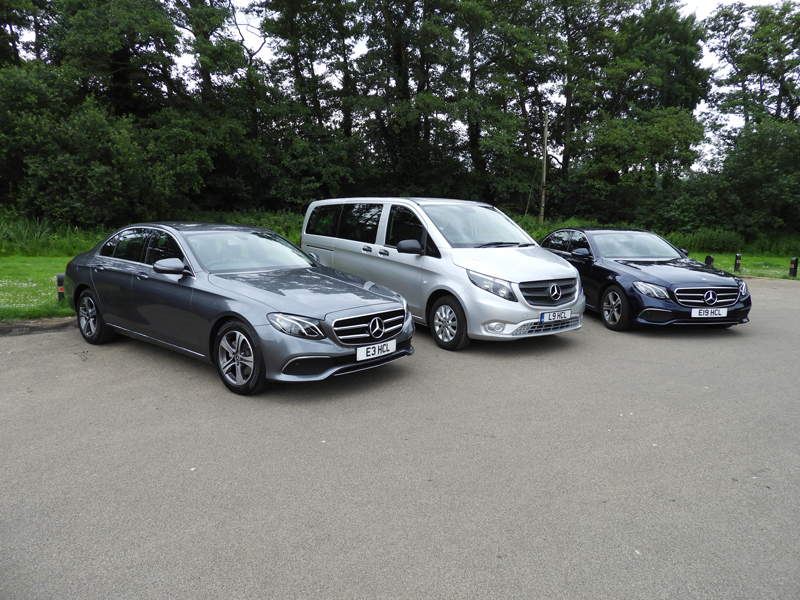chauffeur service for private and commercial use